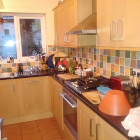 Large kitchen guests may use