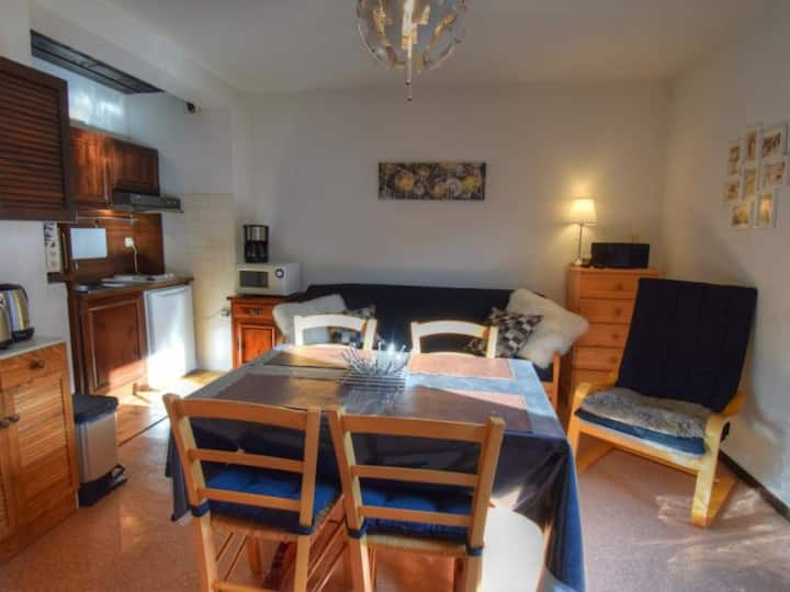 Appartement 4 personnes en plein centre de la Station - FR-1-524-55