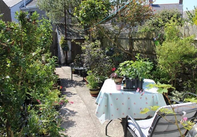 The sun-trap of a garden