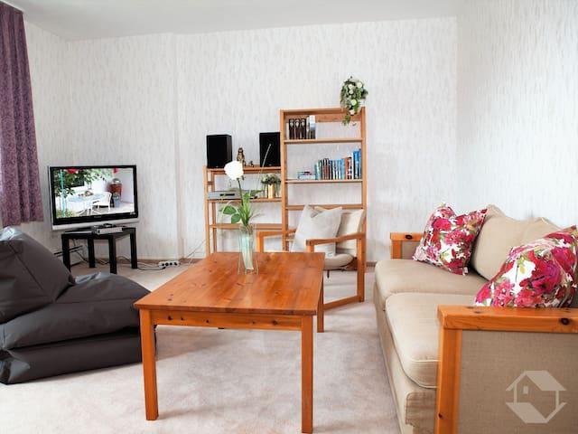Ferienwohnung Sonnenalb, (Albstadt), Ferienwohnung, 60qm, Terrasse, 1 Schlafzimmer, max. 4 Personen