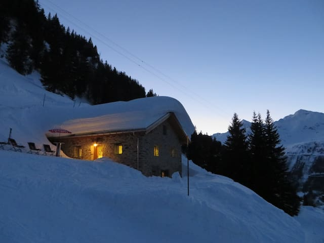 Baita Cucurei - Holidays in the Swiss Alps