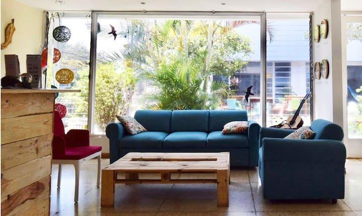 Habitación Murciélago, Lost In Costa Rica Hostel