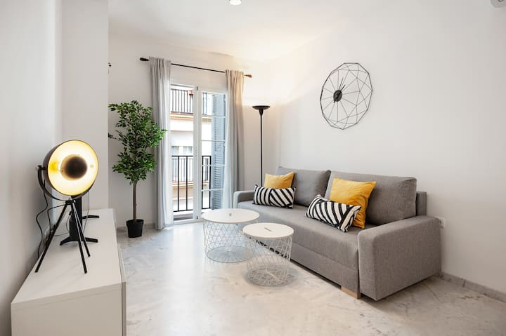 Alluring Apartment in Malaga Downtown