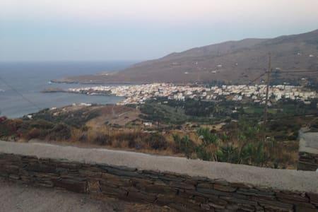 Holiday apt with sea view - Αποικία - House