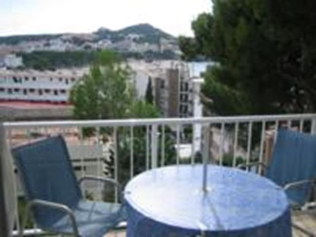 Nice studio with sea views and pool in Santa Ponsa - Santa Ponsa - Apartment