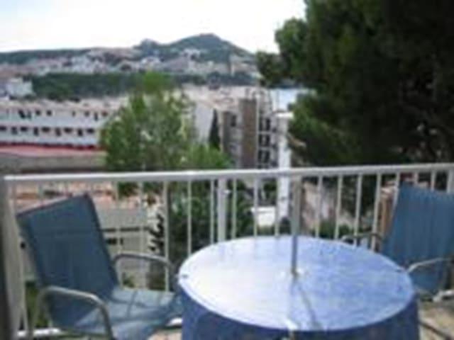 Nice studio with sea views and pool in Santa Ponsa - Santa Ponsa - Apartmen