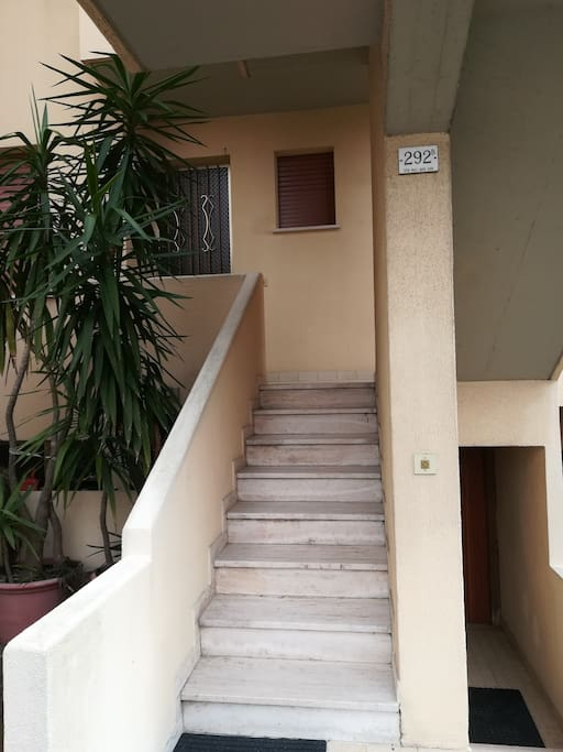 accesso agli appartamenti privati