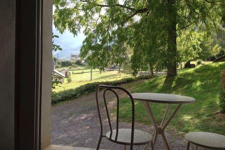 Joli gîte avec vue sur nos belles Pyrénées