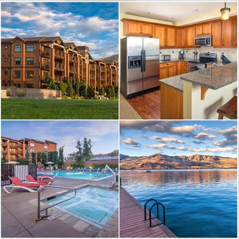 3 Bed Lake View Wyndham Chelan Lake House, WA - Chelan - Appartement