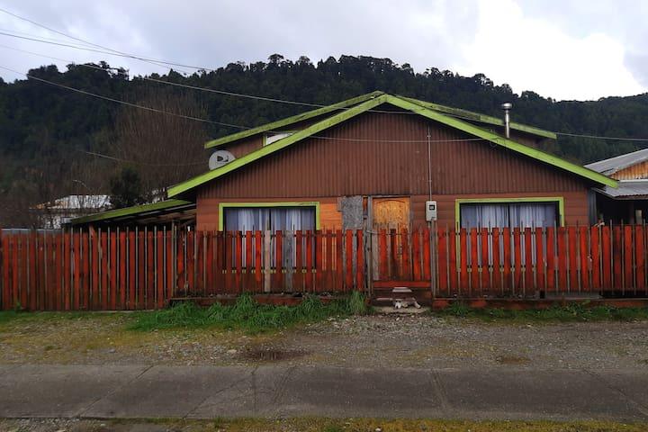 Alojamiento en casa privada de Puerto Cisnes
