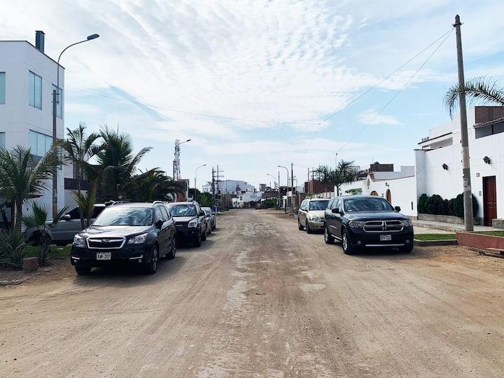 Punta Hermosa,  duplex de estreno en urb. Miramar
