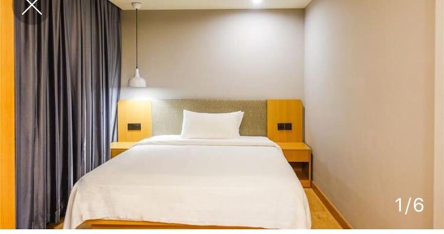 精品酒店式公寓 现代化设施 居住环境简单