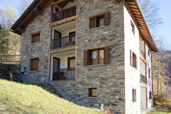 Charmant Attic just 5 minutes drive from the lifts - Riva Valdobbia - Apartment