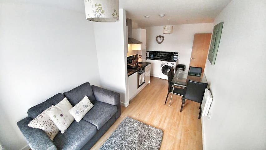 34 Bright modern city centre apartment - 布拉德福德(Bradford) - 公寓
