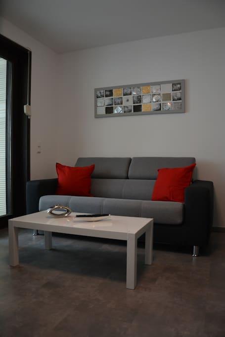 Sofa mit Schlafunktion für Dauerschläfer geeignet