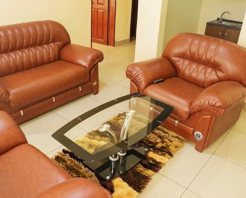 One bedroom fully furnished Apt.
