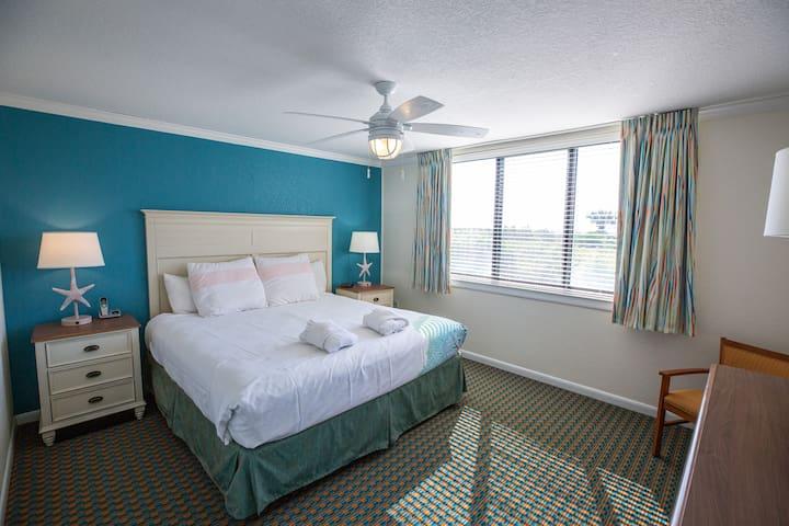 Master Bedroom at Seawatch View Three