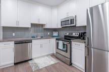 A fabulous kitchen to cook in with all the appliances you could want