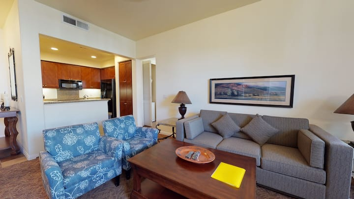 (LV103) Downstairs One Bedroom Opening to a Private Fountain