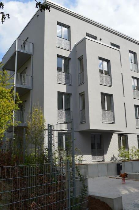 Ganz oben ist die Wohnung - Neubau
