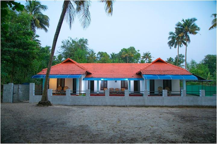 Brand new property right next to Marari Beach