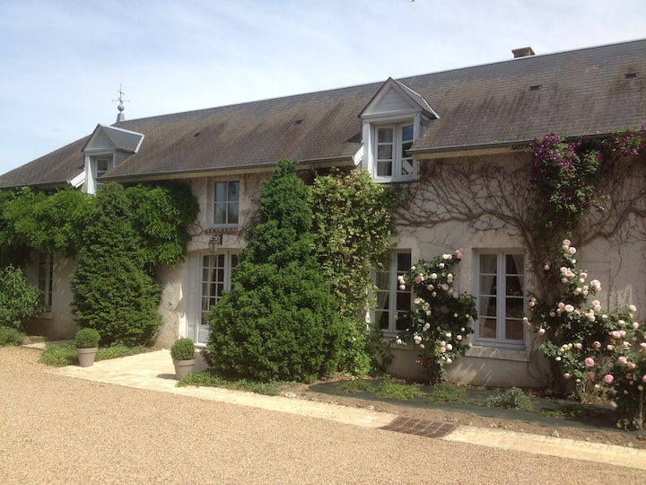 A quiet and distinguised house 15km from Chambord