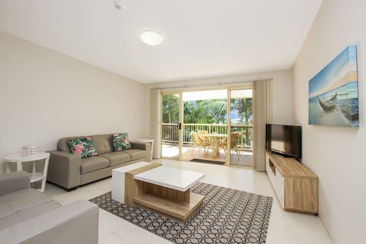 Spacious 2BR Lennox Beach Resort Apartment