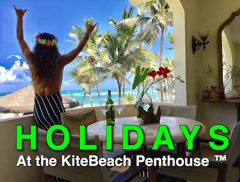 ☆WoW Penthouse☆ on the Beach by KiteBeachRental ☆