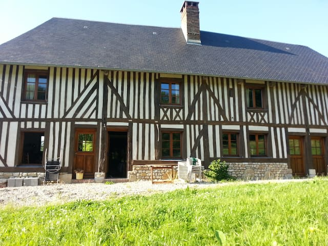 Nestled in the deep country side - Les Authieux-sur-Calonne - House