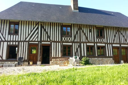 Nestled in the deep country side - Les Authieux-sur-Calonne - Haus