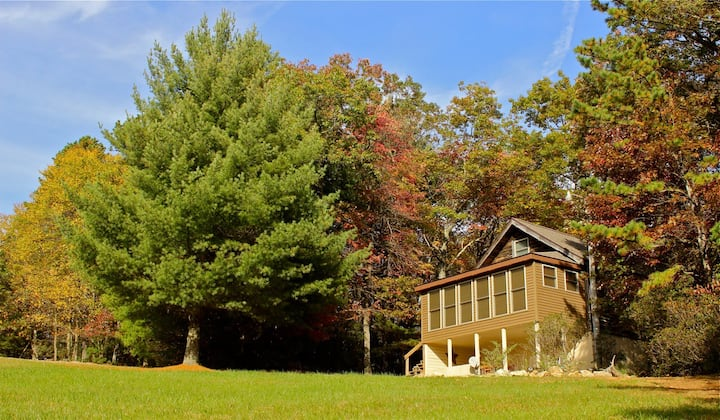 Blue Ridge Parkway Cabin Home