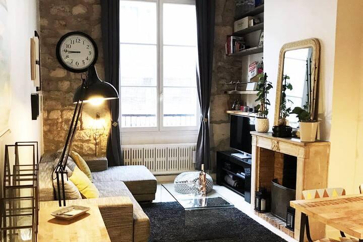 Appartement de caractère Ile Saint Louis - Marais