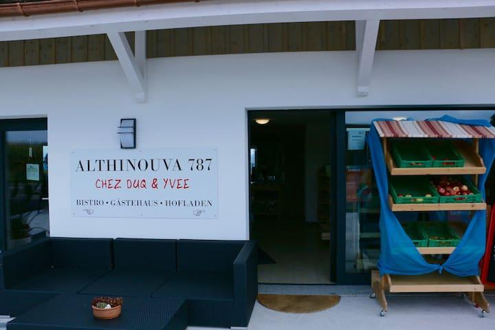 Zimmer 2 mit Seesicht - Altnau - Bed & Breakfast