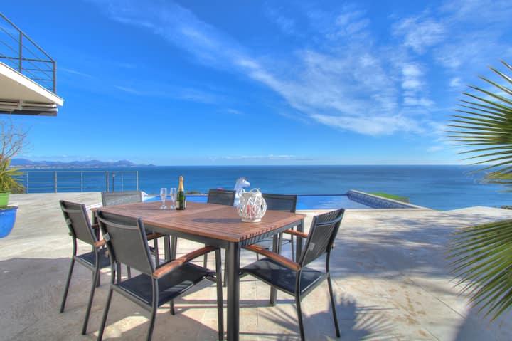 Villa moderne - Vue mer panoramique