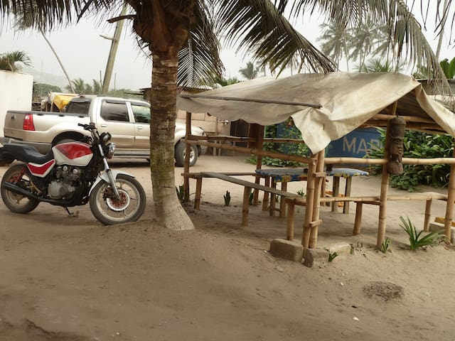 Kcoffee Shop Beach bar - Accra - Zelt