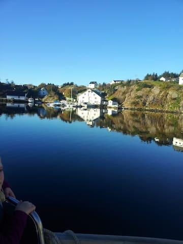 Vilt og utemmet  40 km fra Bergen. - Øygarden - Casa