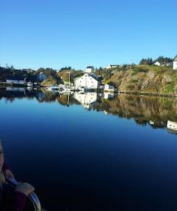 Vilt og utemmet  40 km fra Bergen. - Øygarden - 단독주택