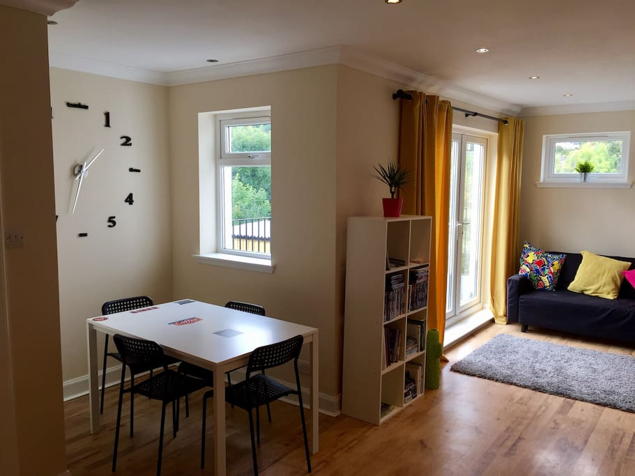 Large open plan dining area