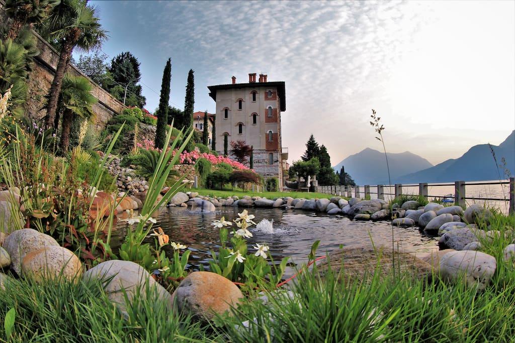 giardino e villa