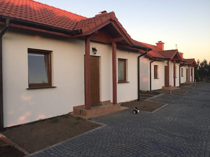 Domki nad Morzem Zakrzewo koło Darłowa