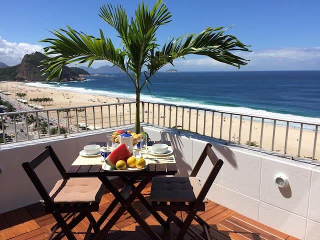 Penthouse overlooking Copacabana beach - Rio de Janeiro - Apartment
