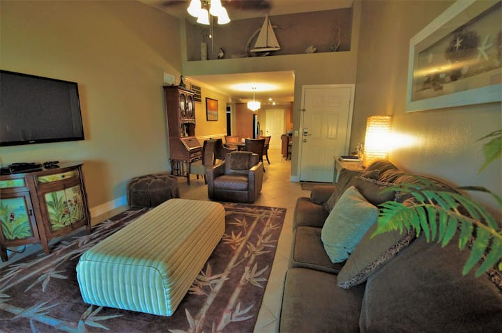 Ocean view; WiFi, Cable, 2 Pools,SPA; BBQ Grills