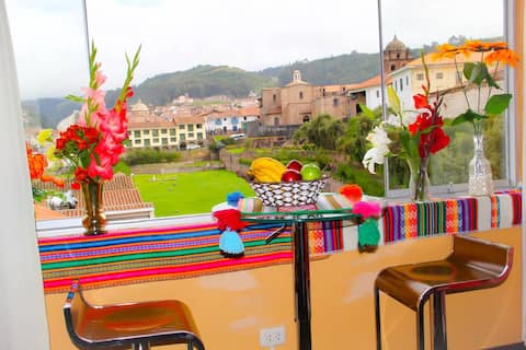 BEAUTIFUL colorful apartment in the heart of Cusco