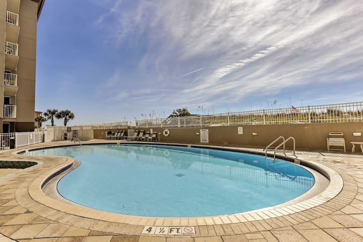 The Island Princess' amenities include a heated gulf-front pool and hot tub!