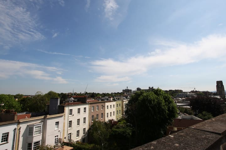 View from the bedrooms