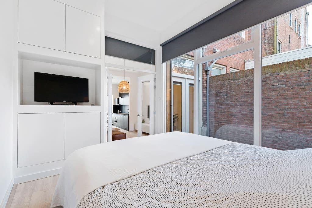 bedroom backside