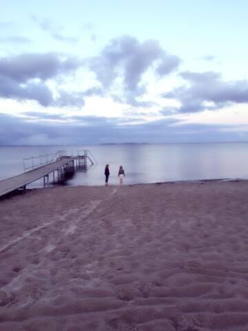 Tæt på Lousiana, strand og skønne natur omgivelser