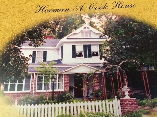 The Historic Herman A Cook House