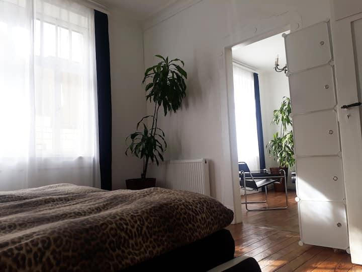 Charmante Altbau-Wohnung / Kurpark mit Dielenböden