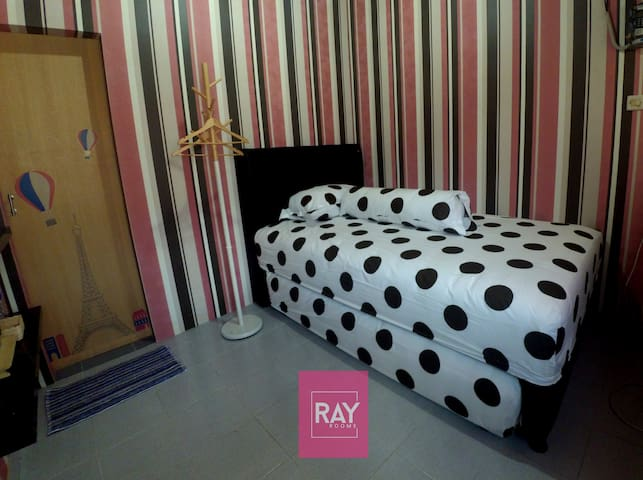 Clean Room in the middle city of Jogjakarta